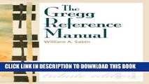 [Free Read] The Gregg Reference Manual: A Manual of Style, Grammar, Usage, and Formatting Tribute