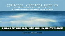 [EBOOK] DOWNLOAD Gilles Deleuze s Philosophy of Time: A Critical Introduction and Guide PDF