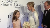 Le prince Albert et la princesse Charlene au Gala Princess Grace Awards à New York
