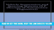 [FREE] EBOOK Vehicle Suspension and Steering Systems (S P (Society of Automotive Engineers)) BEST