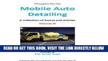 [READ] EBOOK Mobile Auto Detailing - A Collection of Essays Volume III (Lance Winslow Small
