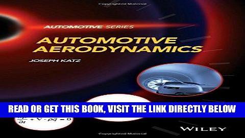 [READ] EBOOK Automotive Aerodynamics (Automotive Series) BEST COLLECTION