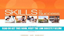 [READ] EBOOK Skills for Success with Office 2013 Volume 1 (Skills for Success, Office 2013) ONLINE
