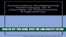 [READ] EBOOK Automotive Multiplexing Technology (S P (Society of Automotive Engineers)) BEST