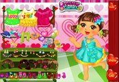 Dora Valentine Sweet Dresup - Dora The Explorer - Dora Valentine Game