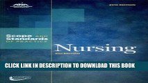[FREE] EBOOK Nursing: Scope and Standards of Practice (Ana, Nursing Administration: Scope and