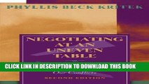 [FREE] EBOOK Negotiating at an Uneven Table: Developing Moral Courage in Resolving Our Conflicts