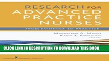 [FREE] EBOOK Research for Advanced Practice Nurses: From Evidence to Practice ONLINE COLLECTION