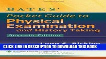 [READ] EBOOK Bates  Pocket Guide to Physical Examination and History Taking ONLINE COLLECTION