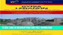 Ebook Syria, Lebanon = Syrie, Liban = Syrien, Libanon = Sziria, Libanon (Country Map) Free Read