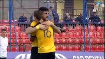 Αιγινιακος-Αρης 0-3 Ολα τα γκολ (Καπνίδης 1ο , Μιλούνοβιτς 2ο και 3ο) - Κυπελλο Ελλαδος 25-10-2016