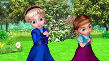Frozen Non Stop 60 Mins Nursery Rhymes Collection | Frozen Songs | Frozen Rhymes For Children