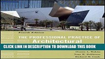 Ebook The Professional Practice of Architectural Working Drawings Free Read