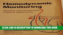 [FREE] EBOOK Hemodynamic Monitoring: Invasive and Noninvasive Clinical Applications ONLINE