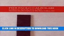 [PDF] Pier Paolo Calzolari Popular Collection