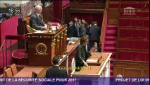 PLFSS 2017 : intervention de Marisol TOURAINE à l'Assemblée nationale