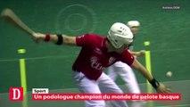 Un podologue champion du monde de pelote basque