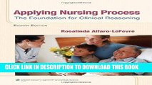 [FREE] EBOOK Applying Nursing Process: The Foundation for Clinical Reasoning ONLINE COLLECTION