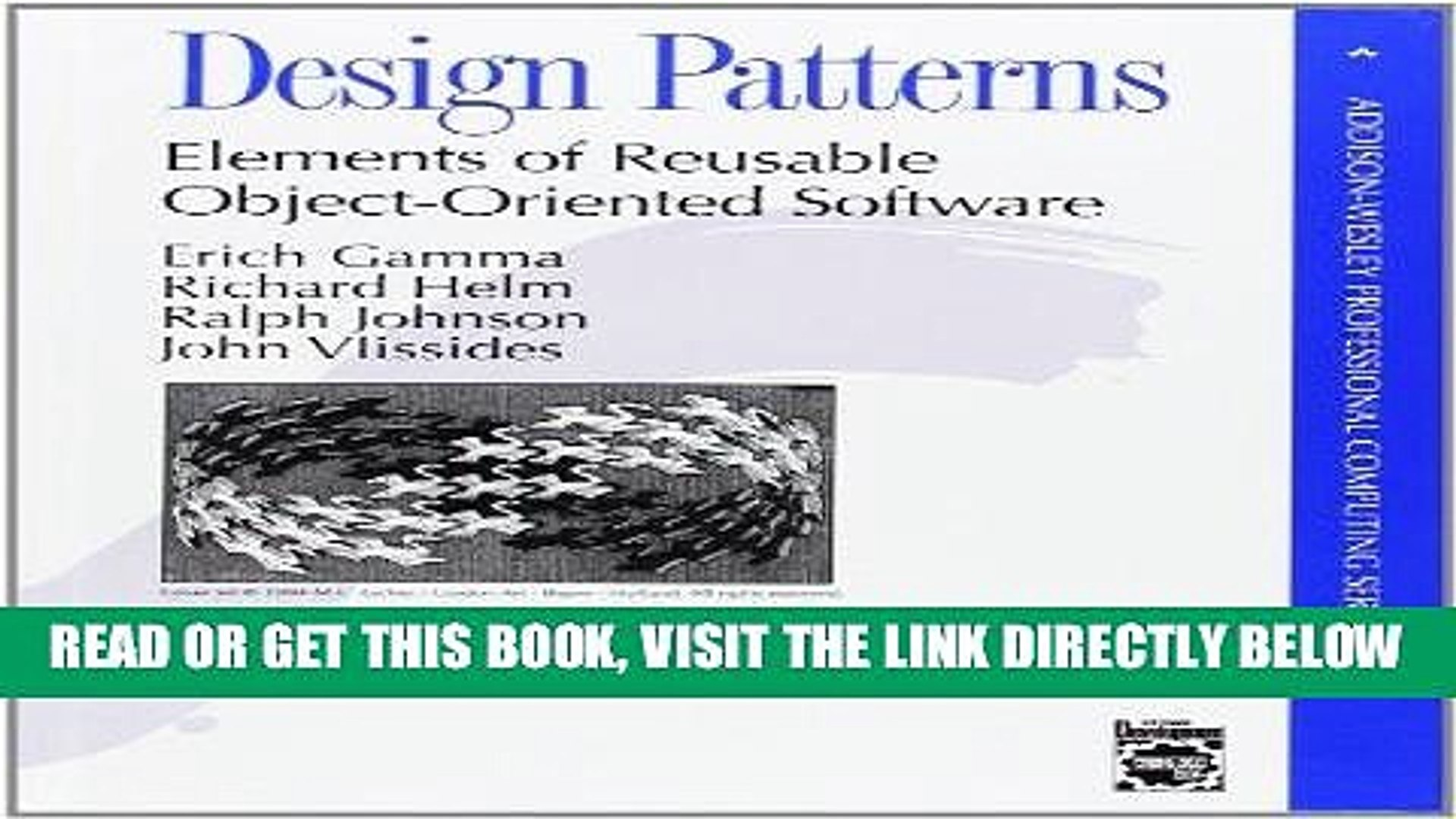 Ebook Download Design Patterns Elements Of Reusable Object Oriented Software Get Now Video Dailymotion
