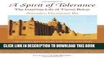 A Spirit of Tolerance: The Inspiring Life of Tierno Bokar (Spiritual Masters: East and West)