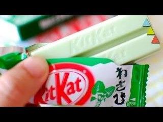 Os 10 sabores de Kit Kat mais estranhos