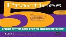 [EBOOK] DOWNLOAD 5 Practices for Orchestrating Productive Mathematics Discussions [NCTM] PDF