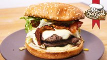 Recette McDo : Le Bacon & Cheddar Fondu ! Burger de Fou