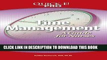[READ] EBOOK Quick-E! Pro: Time Management: A Guide For Nurses BEST COLLECTION