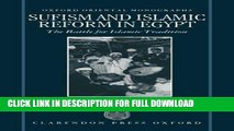 Ebook Sufism and Islamic Reform in Egypt: The Battle for Islamic Tradition (Oxford Oriental