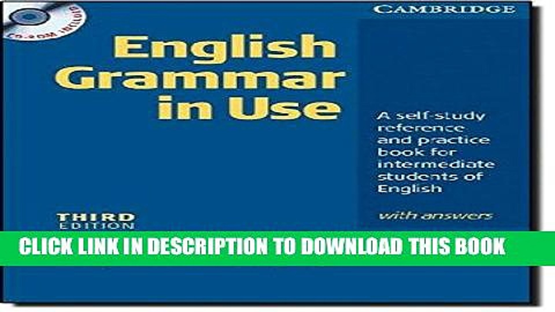 [PDF] English Grammar In Use with Answers and CD ROM: A Self-study  Reference and Practice Book for