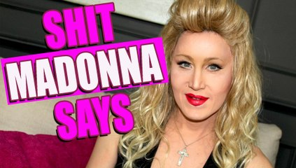 Shit Madonna Says (Мадонна несет чушь) | Чарли Хайдс пo-русски