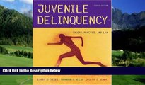 Big Deals  Juvenile Delinquency: Theory, Practice, and Law (with InfoTrac)  Full Ebooks Most Wanted