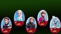 Frozen Giant Kinder joy Surprise Eggs Finger Family Nursery Rhyme Kinder Joy Eggs Daddy Finger Song