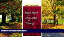 Big Deals  Research Methods for Criminal Justice and Criminology (with InfoTrac)  Best Seller