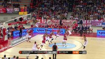 Olympiacos Piraeus vs EA7 Emporio Armani Milan [ Highlights_ Euroleague Basketball 25.10.16 ]