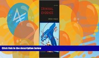 Books to Read  Criminal Evidence 6th (sixth) edition Text Only  Best Seller Books Best Seller