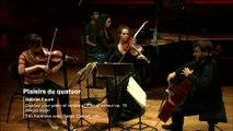 Gabriel Faure : Quatuor pour piano et cordes n° 1 en ut mineur op. 15 - Allegro molto par le Trio Karenine avec Sarah Chenaf