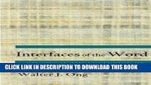 [Free Read] Interfaces of the Word: Studies in the Evolution of Consciousness and Culture Free