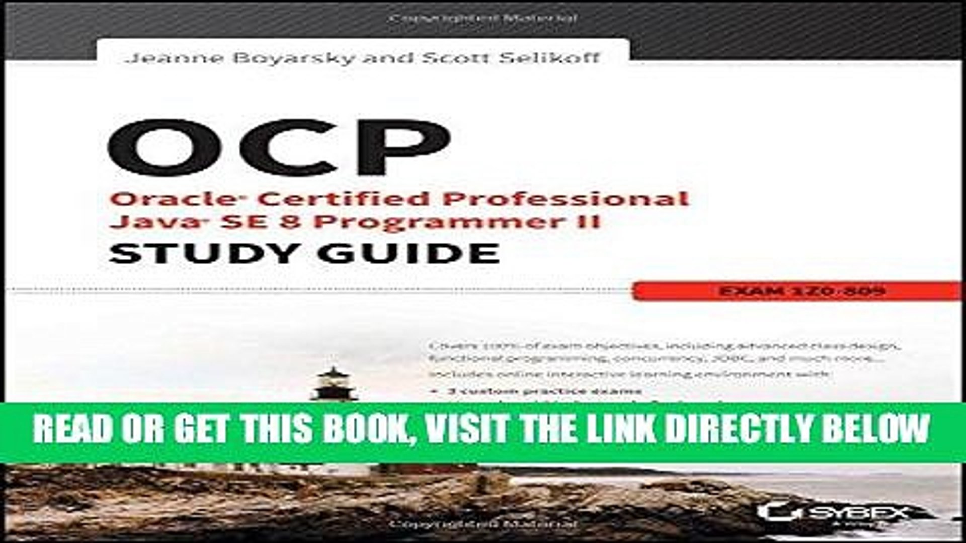 [Free Read] OCP: Oracle Certified Professional Java SE 8 Programmer II  Study Guide: Exam 1Z0-809