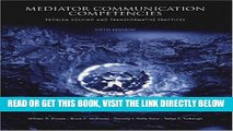 [New] Ebook Mediator Communication Competencies: Problem Solving and Free Read