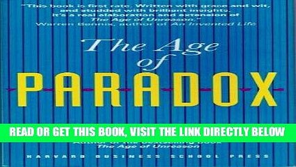 [New] Ebook The Age of Paradox Free Online