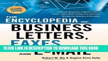 [New] Ebook The Encyclopedia of Business Letters, Faxes, and Emails: Features Hundreds of Model
