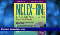 FAVORITE BOOK  Lippincott s Review for NCLEX-RN® (Lippincott s Q A Review for NCLEX-RN (W/CD))