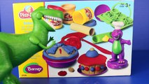 Play Doh Barney Bakery with Toy Story Rex Dinosaur Play-Doh Pie, Play Dough Cake, Play-Doh Food
