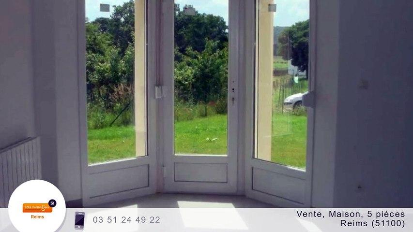 A vendre - Maison/villa - Reims (51100) - 5 pièces - 130m²