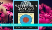 Enjoyed Read Whole Earth Geophysics: An Introductory Textbook for Geologists and Geophysicists