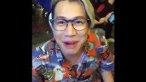 Lou Hoàng ngẫu hứng ngồi vỉa hè hát rong 'Mình là gì của nhau' và 'Đếm ngày xa em'