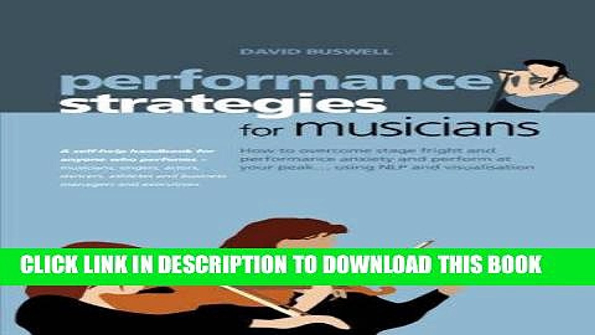 [New] Ebook Performance Strategies for Musicians Free Read