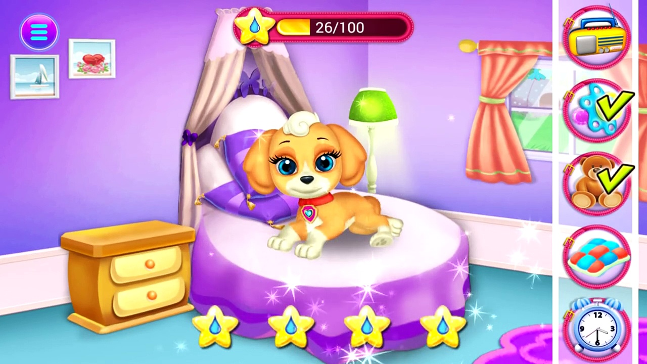 My Cute Little Pet – Kids and Babys Learn to Care Cute Little Puppy – Android Game for Kids and Baby