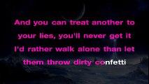 Sia - Confetti ¦ LOWER Key Piano Karaoke Instrumental Lyrics Cover Sing Along
